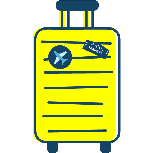 Petite valise cabine (< 10kg)